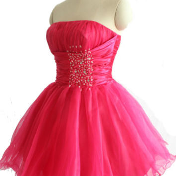 Ladies Girls Pinks Cocktail Party Club Evening Prom Dresses Size 6 8 10 12 14 16