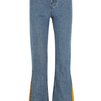Solace London - Hettie high-rise flared jeans