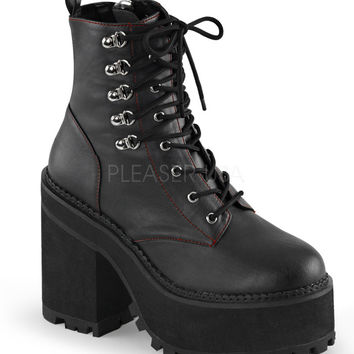 Demonia Assault Vegan Leather Boots