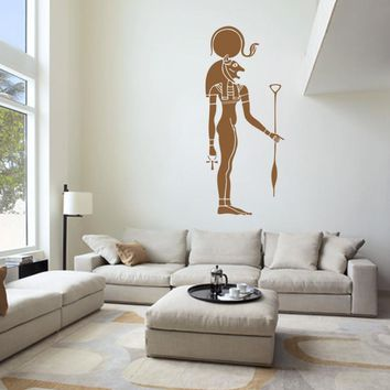 ik999 Wall Decal Sticker egyptian god war sekhmet bedroom