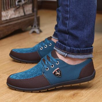 Ferrary 2017 mens Casual Shoes mens canvas ferrarys shoes for men shoes Flats Leather