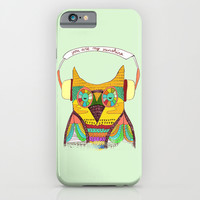 The Owl rustic song iPhone & iPod Case by Budi Satria Kwan