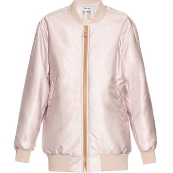 Selow satin-twill bomber jacket | Acne Studios | MATCHESFASHION.COM US
