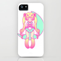 Moon Princess iPhone & iPod Case by LookHUMAN