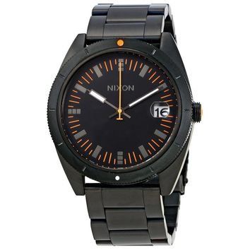 Nixon Rover SS II Black Dial Mens Stainless Steel Watch A359577