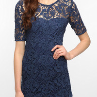 Urban Outfitters - Sparkle & Fade Lace Trompe L'oeil Dress