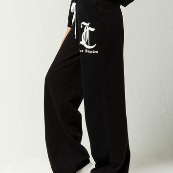 JUICY BY JUICY COUTURE Logo Womens Sweatpants