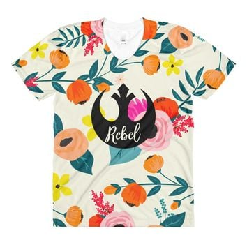 Floral Rebel Women's Tee