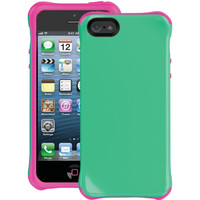 Ballistic Iphone 5 And 5s Aspira Series Case (green And Pink)