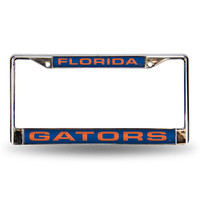 Florida Gators NCAA Laser Chrome Frame