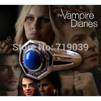[Retail 1 Pcs ]Hot Vampire Diary the Mikaelson Originals Family Ring Klaus Rebekah Elijah Finn Kol Mikael's ring
