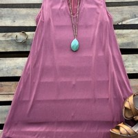 sleeveless dress with cut out neck