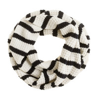 Stripe merino snood - scarves & hats - Women's accessories - J.Crew