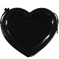 Girls Black Heart Bag - Matalan