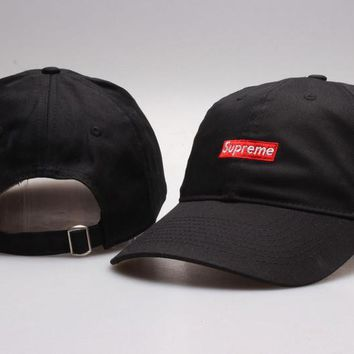 Supreme Strap Cap Adjustable Golf Snapback Baseball Hat