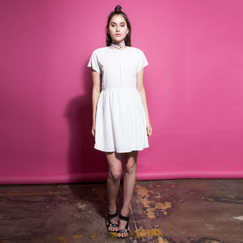 My White Tee Dress