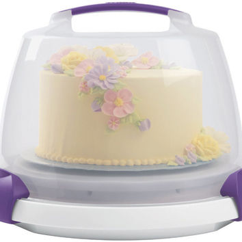 decorate smart ultimate trim-n-turn cake caddy