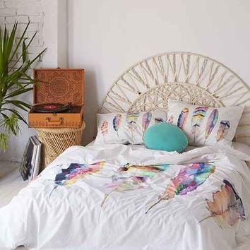 Sarah B. Martinez Feathers Duvet Cover