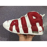 Nike Air More Uptempo 96 Scottie Pippen White/red Basketball Shoes Size Us5.5 12 | Best Deal Online