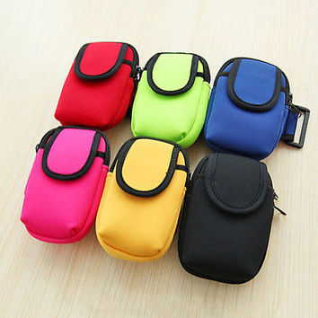 Cycling Sports Running Cell Phone Arm Band bag wrist Pouch Key Package New HU