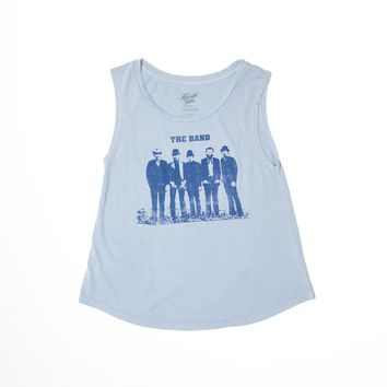 The Band Group Photo Muscle Tee