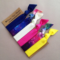 The Nova Hair Tie -Ponytail Holder Collection by Elastic Hair Bandz on Etsy