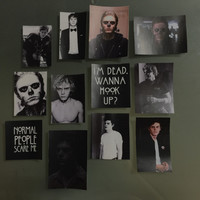 Evan Peters AHS Sticker Set Pack No. 1 FREE by vihanestore on Etsy