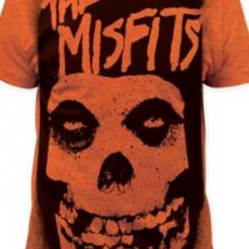 MISFITS, THE - STENCIL BIG PRINT MENS SUBWAY TEE