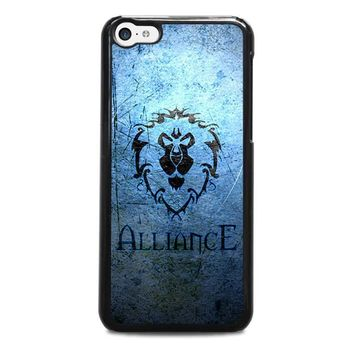 world of warcraft alliance wow iphone 5c case cover  number 1