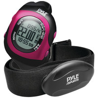 PYLE-SPORT Bluetooth Fitness Heart Rate Monitoring Watch with Wireless Data Tran