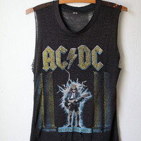 1986 AC/DC 'Who Made Who' North American Tour Shirt