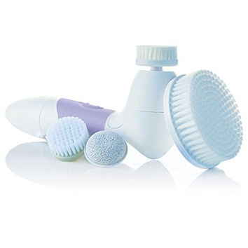 Spin for Perfect Skin Cleansing Facial Brush - Purple