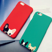 Cute Dog iPhone 5se 5s 6 6s Plus Case Cover + Nice Gift Box