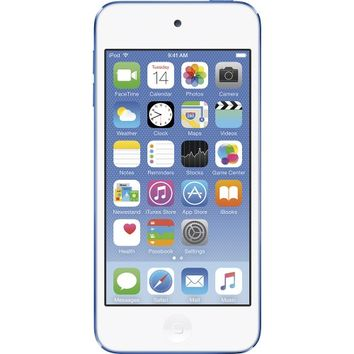 Apple - Geek Squad Certified Refurbished iPod touch® 16GB MP3 Player (6th Generation - Latest Model) - Blue