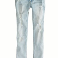 AEO 's Skinny Jean (Light Destroy Vintage)