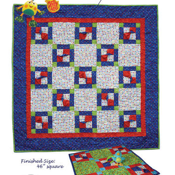Playtime Pattern, Playtime Quilt Pattern, Quilt Pattern, Kid Quilt Pattern, Kid Quilt, Bowtie Quilt, Bowties, Quilts, Playtime, Patterns