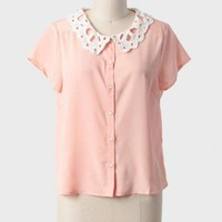 georgia mornings collared blouse at ShopRuche.com