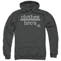 ONE TREE HILL/CLOTHES OVER BROS 2-ADULT PULL-OVER HOODIE-CHARCOAL