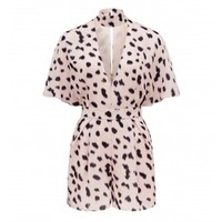 Kendall & Kylie printed playsuit Animal Print - Womens Fashion | Forever New