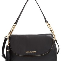 MICHAEL Michael Kors 'Bedford Tassel - Medium' Convertible Leather Shoulder Bag