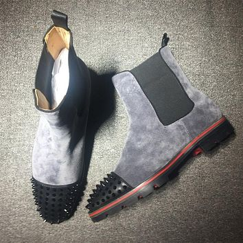 Cl Christian Louboutin Boots Style #2099 Sneakers Fashion Shoes-1