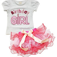 New baby girls 2-piece skirts sets summer birthday girl kids girls suits shortsleeves T-shirts tops+bowknot skirts children's outfits sets girls clothing = 1945924164