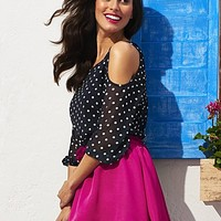 Sweet Pea - Eliza Cold-Shoulder Blouse - New York & Company