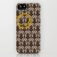 Sherlock Wallpaper iPhone & iPod Case by MellyMellow