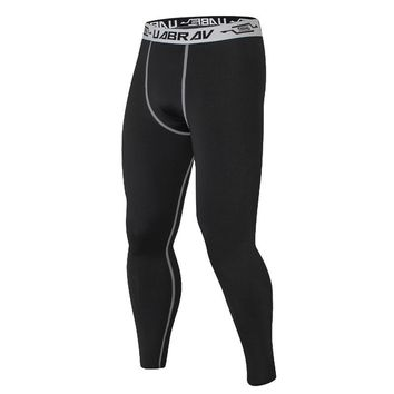 New Quick Dry Outdoor Running Tight Pant Men Sports Legging Sportswear Jogger Pants Skinny Compression Fitness Athletic Trousers