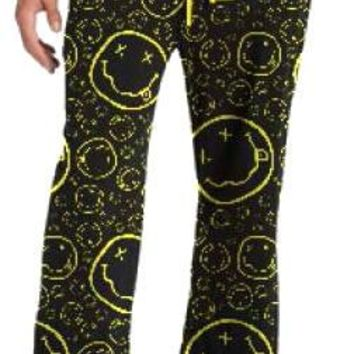 Nirvana Lounge Pants - Smiley Face