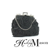 Floral Evening Bag - HaileyMason, LLC Store