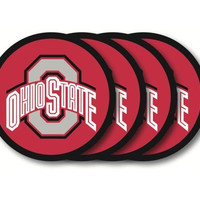 Ohio State Buckeyes Coaster Set - 4 Pack