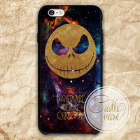 Nightmare Before Christmas iPhone 4/4S, 5/5S, 5C Series, Samsung Galaxy S3, Samsung Galaxy S4, Samsung Galaxy S5 - Hard Plastic, Rubber Case