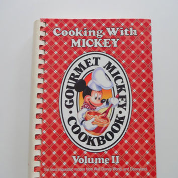 Vintage Cooking with Mickey Cookbook 1980s